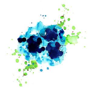 Iceland. 21x29 cms/42x59 cms. Acuarela/digital. Ilustración en acuarela y tratada digitalmente perteneciente a la colección Gaia. Serie de ilustraciones representando distintos países del mundo