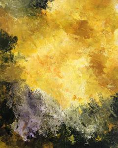 El Rapto III. Cuadro pintado al óleo sobre lienzo. Forma parte de la colección El Rapto. Basado en un fragmento de La Biblia donde Dios resucita a los muertos y a los vivos dignos de El Señor para llevárselos con Él al cielo. Éste cuadro representa lo caótico del mundo motivando así la destrucción del mundo.